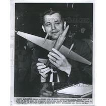 1970 Press Photo Pilot Francis Gary Senate Armed Servi - RRS61277