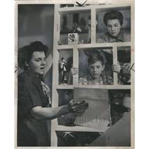 1956 Press Photo Cornelia, Douglas, and Pat Floyd - RRS46291