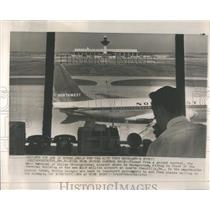 1962 Press Photo Chantilly Airport Mobile Lounges - RRS06169