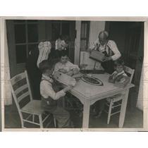 1921 Press Photo Masons Scottish Rite Hospital Children - RRS07275