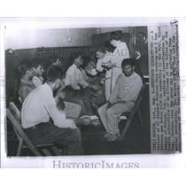 1957 Press Photo Labor migratory Mexicans Farm Workers - RRS95537