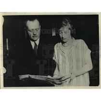 1926 Press Photo Mr. and Mrs. J. Maxwell Taft of Oakland, California