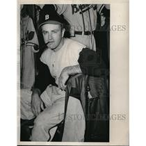 1948 Press Photo Nelson Potter to start with the Boston Braves