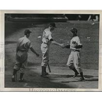 1949 Press Photo Stan Spence Washington Senators Outfielder