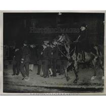1932 Press Photo London Police & Communists Clash at St. George's Circus