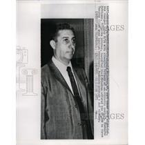 1959 Press Photo Harold Friedman Charged attempted bribary Humberto Robinson