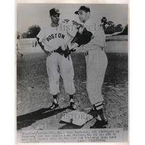 1951 Press Photo Lou Bordeau Red Sox