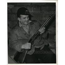 1942 Press Photo Steve o''Neill Shotgun - nes00921