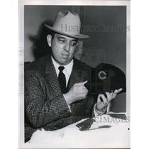 1955 Press Photo Bobby Brazm - nes00995