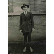 1921 Press Photo Albert Namen, Chicago Cub Reporter of Omaha Daily News