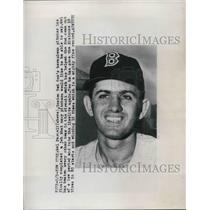 1949 Press Photo Mel Parnell Pitcher Boston Red Sox 15 Out Of 20 Wins MLB