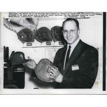 1952 Press Photo White Sox Stevens - nes01601