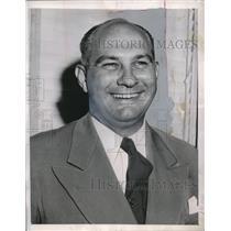 1948 Press Photo Eddie Sawyer Manager Philadelphia Athletics A's MLB Baseball