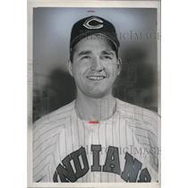 1951 Press Photo John Antonelli of the Cleveland Indians - nes01116