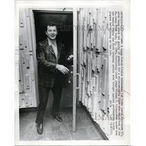 1970 Press Photo Boston Bruins defenseman Ted Green found not guilty of assault