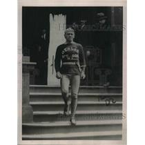 "1922 Press Photo Sam Johnson""Human Locomotive""run 200 miles in 30 Hours."