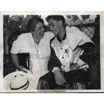 1939 Press Photo Joe Scott, Western Reserve University Decathlon Champion, Ohio