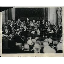 1931 Press Photo Swedish Parliament King Gustav V - neb47965
