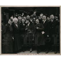 1920 Press Photo Chicago City Hall Strikers - nez02509