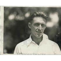 1928 Press Photo Ted Drewes, American Tennis Champion Player. - nes04203
