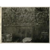 1929 Press Photo Roman Carving Found at Hippone, North Africa