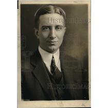 1924 Press Photo C. D. Gilbert, S. P., Agent General