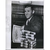 1960 Press Photo Eddie LeBaron, Former Dallas Cowboys Football Player, Attorney