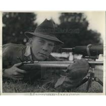 1938 Press Photo Blaine Ulmer Webster Groves Missouri Gun Champion