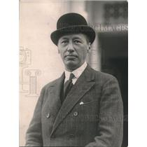1921 Press Photo Philippe Millst, Editor of Petit Pariaisn - nec02944