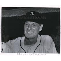 1953 Press Photo New York Giants Manager Leo Durocher - nes08797