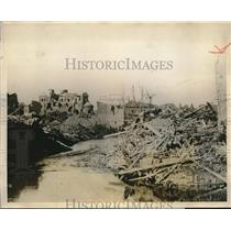 1927 Press Photo Albert Was Large Martyred Town North of France Destroyed