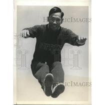 1932 Press Photo Michio Oda 1928 Olympic Hop, Step, Jump Winner, Los Angeles