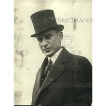1921 Press Photo Eusebie A Morales, Srcty of Finance Treasury Pannama