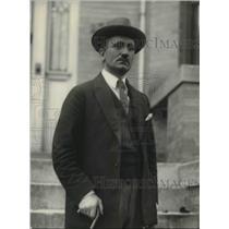 1923 Press Photo Minister of Lithaunia C. Louis Seya