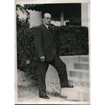 1933 Press Photo Doctor Frederick Trice Jackson Memorial Hospital Mayor