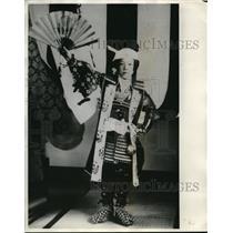 1931 Press Photo Momotaro, Peach Boy of Momotaro Matsuri Festival of Japan