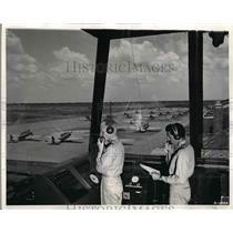 1941 Press Photo Randolph Field. Tx, Army Air Corps flyer training - nem03769