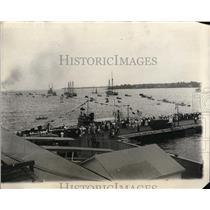 1930 Press Photo Annual President's Cup Regatta at Severn River, Annapolis, Md.