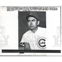 1962 Press Photo Charlie Matro leads the Cubs as the 3rd head coach this season
