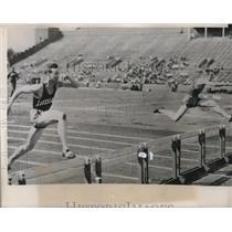1941 Press Photo Indiana wins big ten meet - nes12013