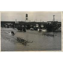 1931 Press Photo Univ of Wash Husky crew vs Univ of Calif at Oakland - nes14031