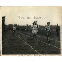 1925 Press Photo Catherine Meorle, Virginia Lennon, Mable Morrisey girls 220