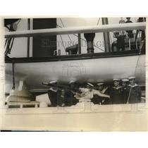 1928 Press Photo Prosidonte Sarmionto Visits New York