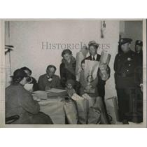 1936 Press Photo Ewing township NJ pop 9,000 has 450 needy families that were