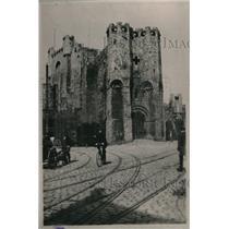 1920 Press Photo Belgian School for Nurses Resides in Wing of Castle - nex09089