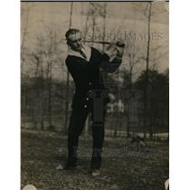 1917 Press Photo Georgia Golfer Tom Prescott Out On The Links - nez07966