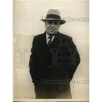 1927 Press Photo Lawrence Schwab,a new york theatrical producer