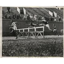 1933 Press Photo August Meier of Stanford Univ. won the I.C.A.A.A.A. Meet.