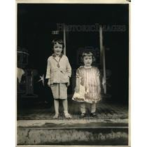 1921 Press Photo Frederick Fogle Randolph And Frank Buhl Randolph - nex09105