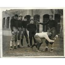 1931 Press Photo Al Wittmer coach at Princeton Univ at training - nes16809